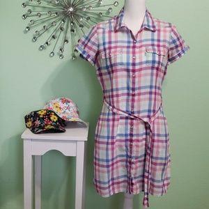 Levi's plaid dress
